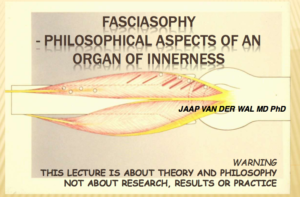 Fasciasophy  – Philosophical Aspects of an  Organ of Innerness
